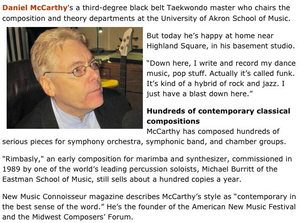 NPR Interview   Daniel McCarthy